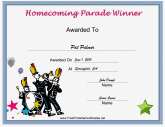 Parade Homecoming