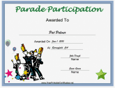 Parade Participation