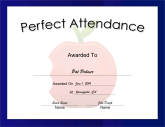 Perfect Attendance Large