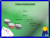 Poker Tournament Winner