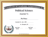 Political Science Academic