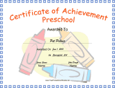 Preschool Achievement