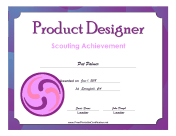 Product Designer Badge