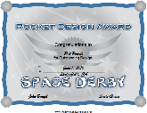 Space Derby Rocket Design Award