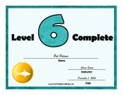 Swimming Lessons Level Six