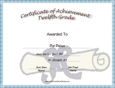 Twelfth Grade Achievement
