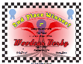 Woodcar Derby 2nd Place