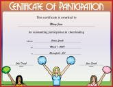 Cheerleading Participation
