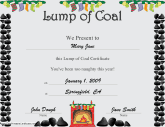 Christmas Lump of Coal