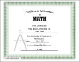 Math Achievement