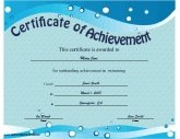 Achievement - Swimming