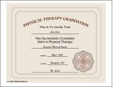 Physical Therapy Graduation