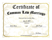marriage certificate maker