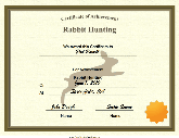 Great rabbit birth certificate template images gallery elitism certificate of achievement in netball printable certificate printable birth certificates maths equinetherapies yelopaper