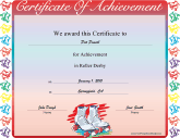 chili award certificate template - free printable certificates