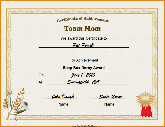 team mom - Cross Country Certificate Templates Free