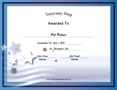 Holiday Certificates - Free Printable Certificates