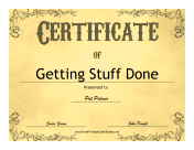 Certificates of appreciation free printable certificates vintage yelopaper Image collections