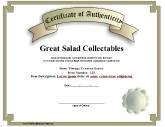 Certificates of authenticity free printable certificates authenticity yadclub Images
