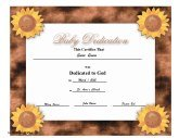 Baby Dedication  Baby Dedication Certificates Templates