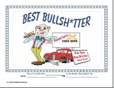 funny printable certificates