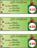 graphic relating to Free Printable Christmas Gift Certificates named Reward Certificates - Totally free Printable Certificates