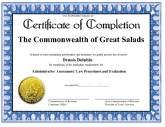 certificates of completion - Marriage Counseling Certificate Of Completion Template