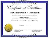 Certificates of excellence free printable certificates excellence yadclub Choice Image